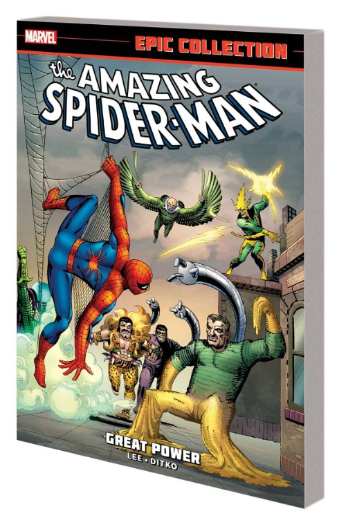 AMAZING SPIDER-MAN EPIC COLLECTION VOL 01: GREAT POWER