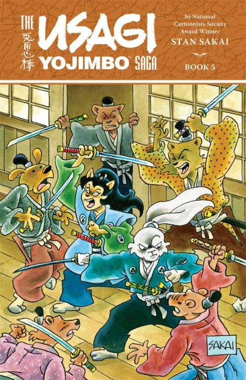 USAGI YOJIMBO SAGA BOOK 05