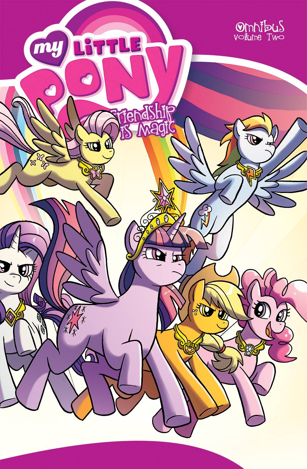 MY LITTLE PONY: FRIENDSHIP IS MAGIC OMNIBUS VOL 02