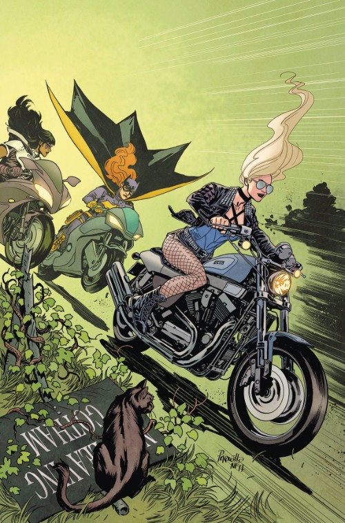 BATGIRL AND THE BIRDS OF PREY#14