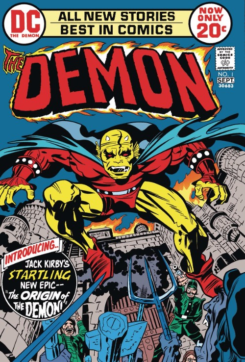 DEMON BY JACK KIRBY