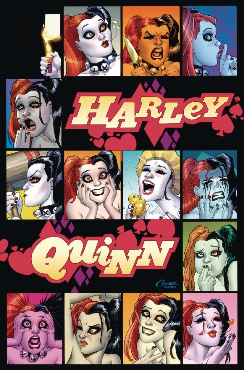 HARLEY QUINN: A ROGUES GALLERY--THE DELUXE COVER ART COLLECTION