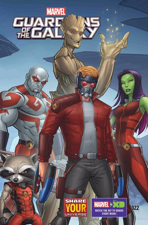 MARVEL UNIVERSE GUARDIANS OF THE GALAXY#22