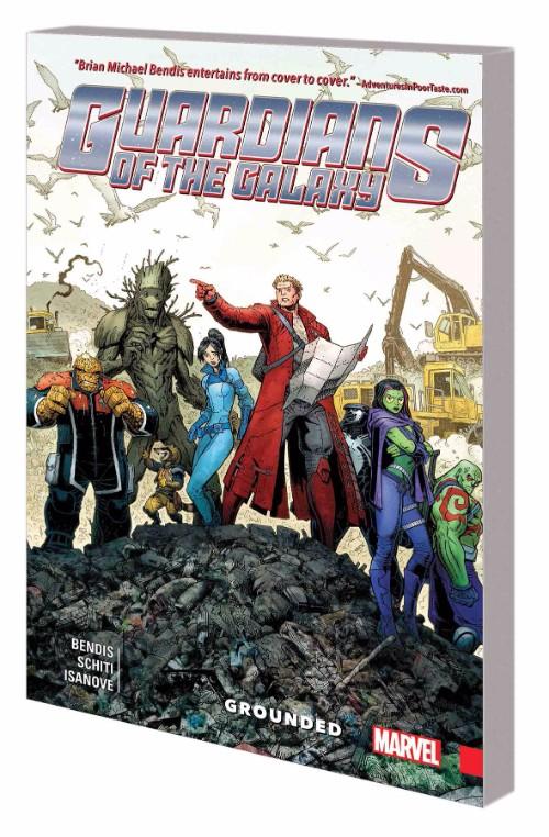 GUARDIANS OF THE GALAXY: NEW GUARDVOL 04: GROUNDED