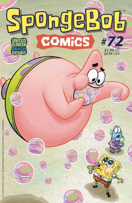 SPONGEBOB COMICS#72