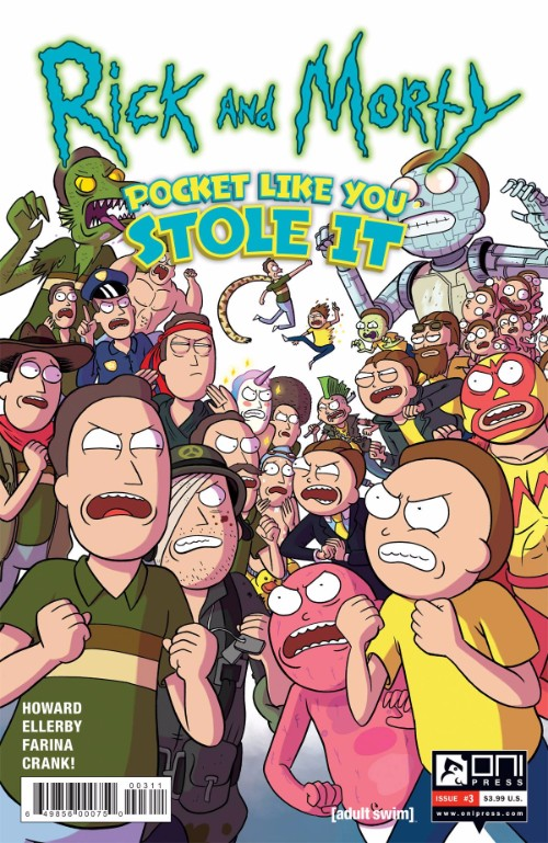 RICK AND MORTY: POCKET LIKE YOU STOLE IT#3