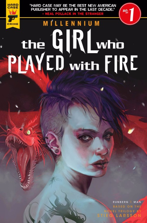 MILLENNIUM--THE GIRL WHO PLAYED WITH FIRE#1