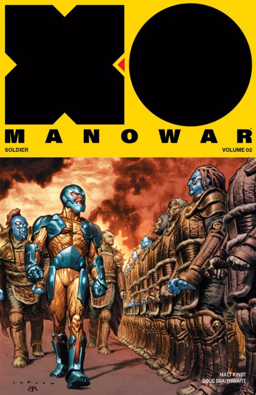 X-O MANOWAR VOL 02: GENERAL