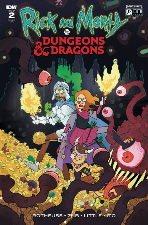 RICK AND MORTY VS. DUNGEONS AND DRAGONS#2