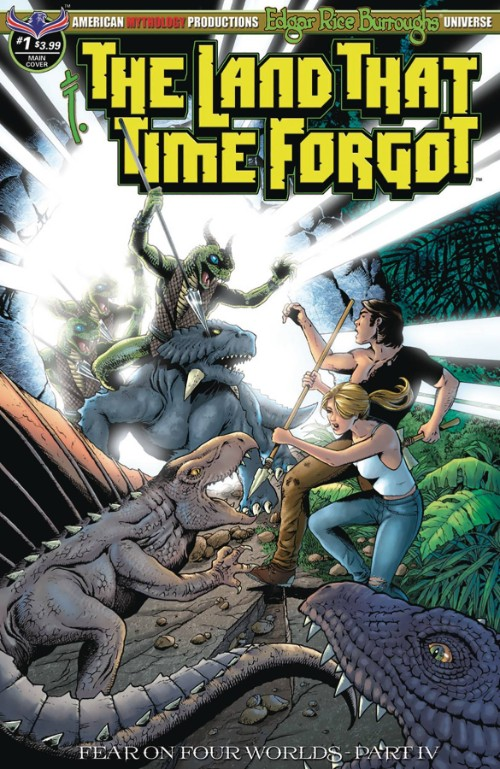 LAND THAT TIME FORGOT: FEAR ON FOUR WORLDS#1