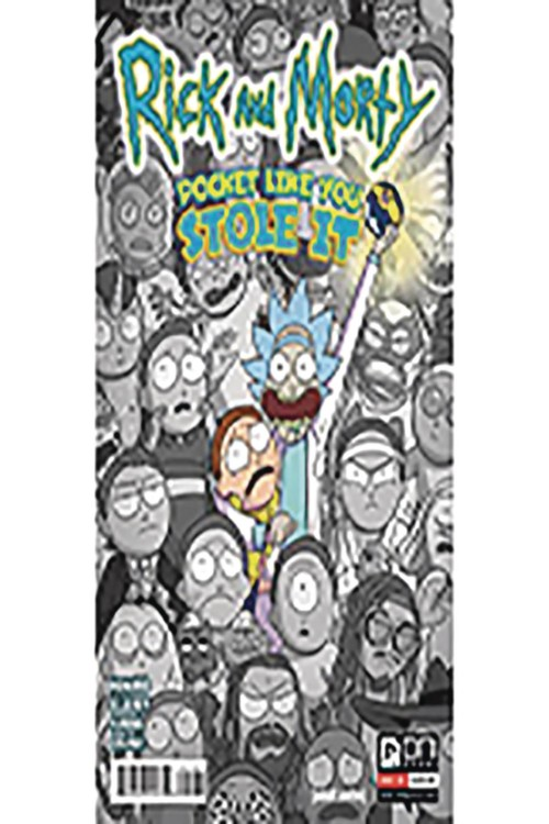 RICK AND MORTY: POCKET LIKE YOU STOLE IT#1