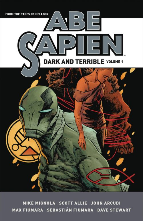 ABE SAPIEN: DARK AND TERRIBLEVOL 01