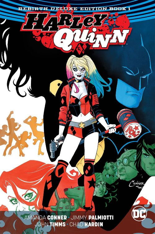 HARLEY QUINN: THE REBIRTH DELUXE EDITIONBOOK 01