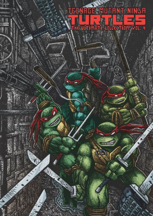 TEENAGE MUTANT NINJA TURTLES: THE ULTIMATE COLLECTIONVOL 04