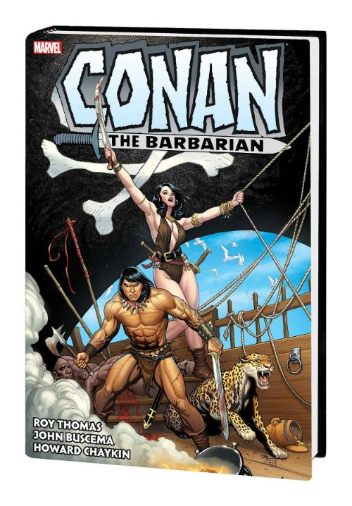 CONAN THE BARBARIAN: THE ORIGINAL MARVEL YEARS OMNIBUSVOL 03