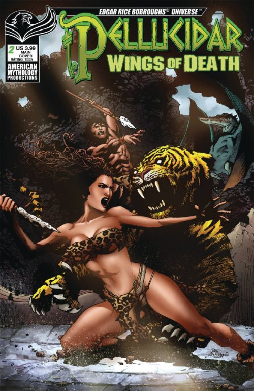 PELLUCIDAR: WINGS OF DEATH#2