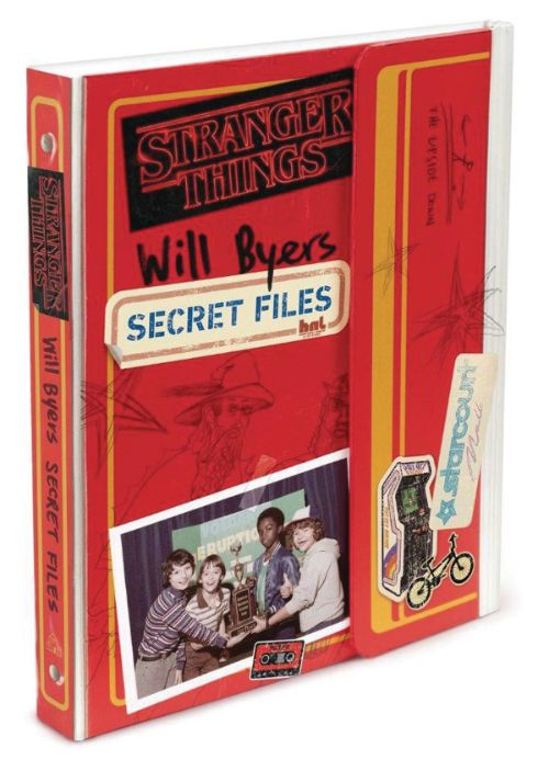 STRANGER THINGS: WILL BYERS' SECRET FILES