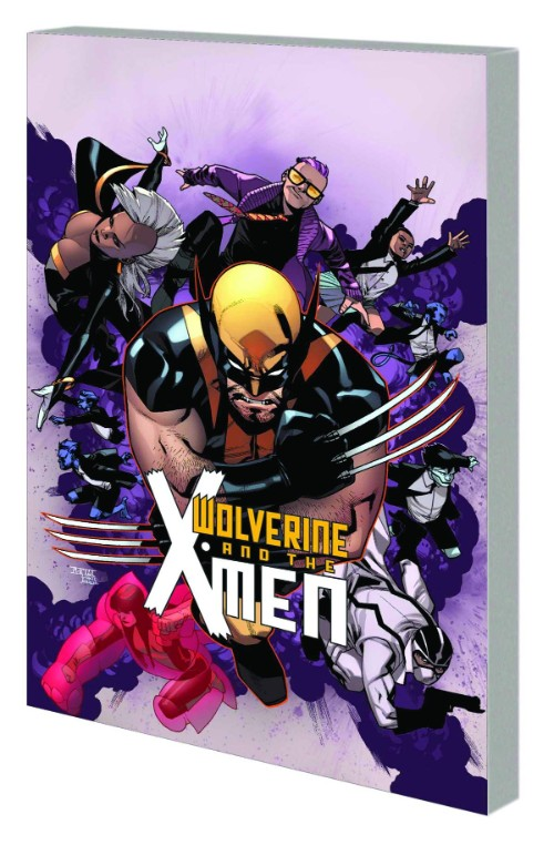 WOLVERINE AND THE X-MEN VOL 01: TOMORROW NEVER LEARNS