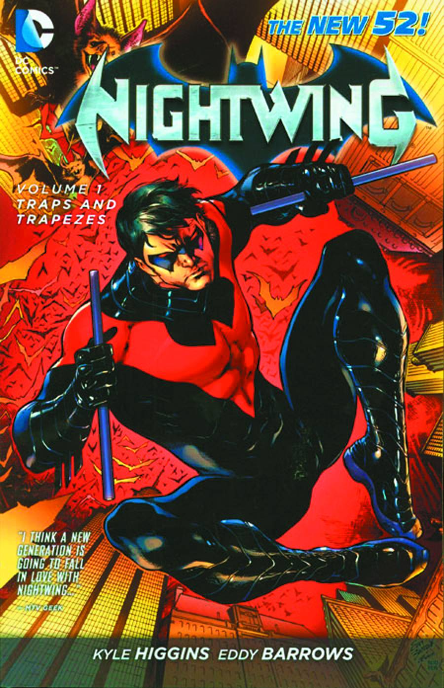 NIGHTWINGVOL 01: TRAPS AND TRAPEZES