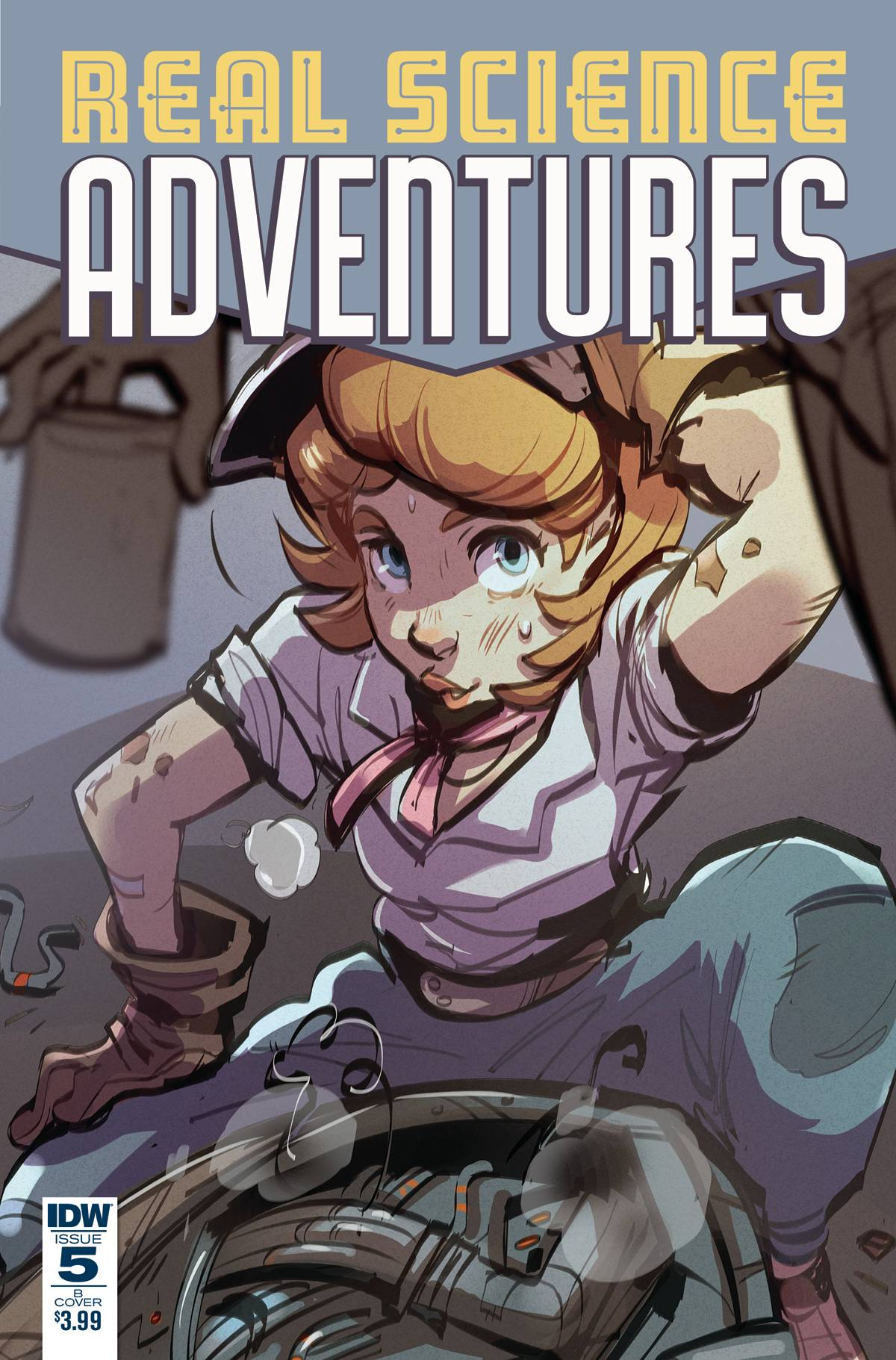 REAL SCIENCE ADVENTURES: THE FLYING SHE-DEVILS#5