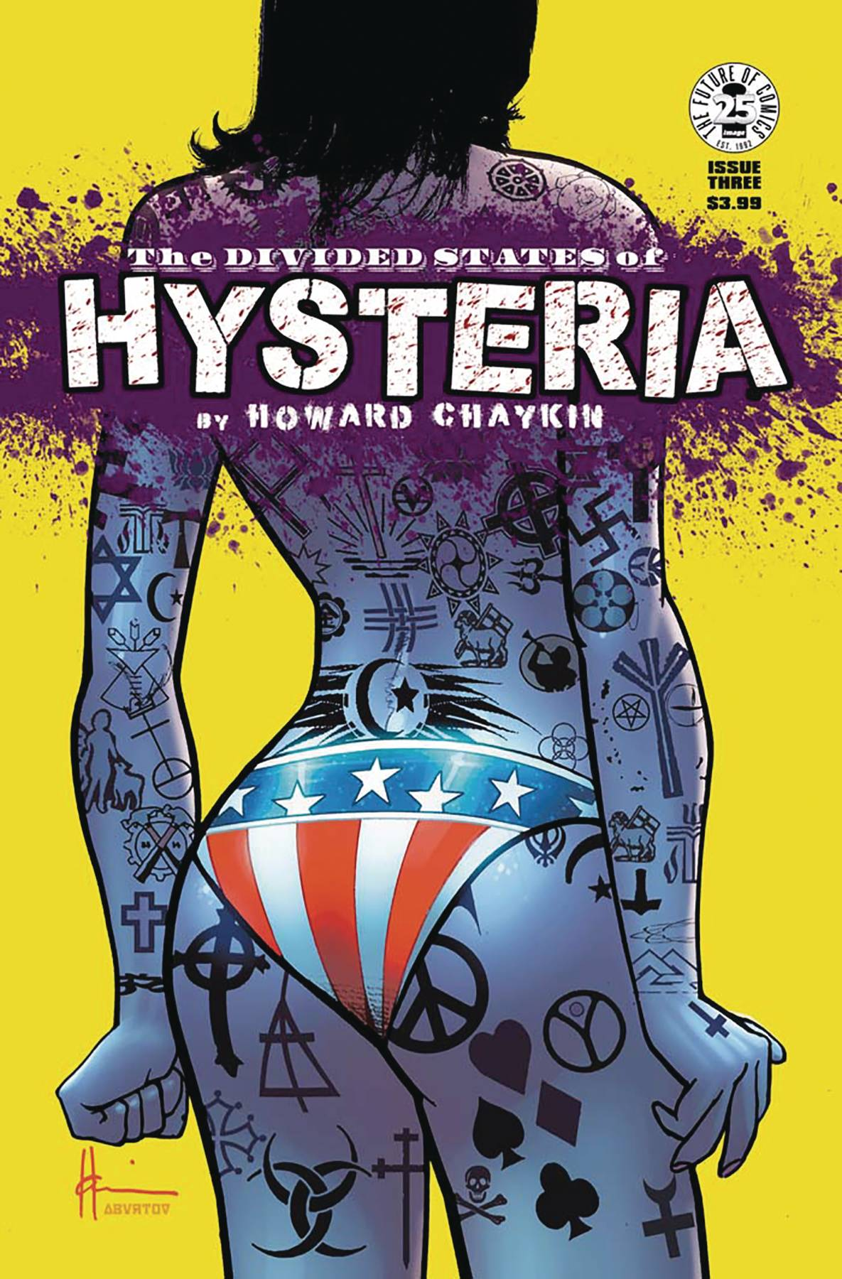 DIVIDED STATES OF HYSTERIA#3