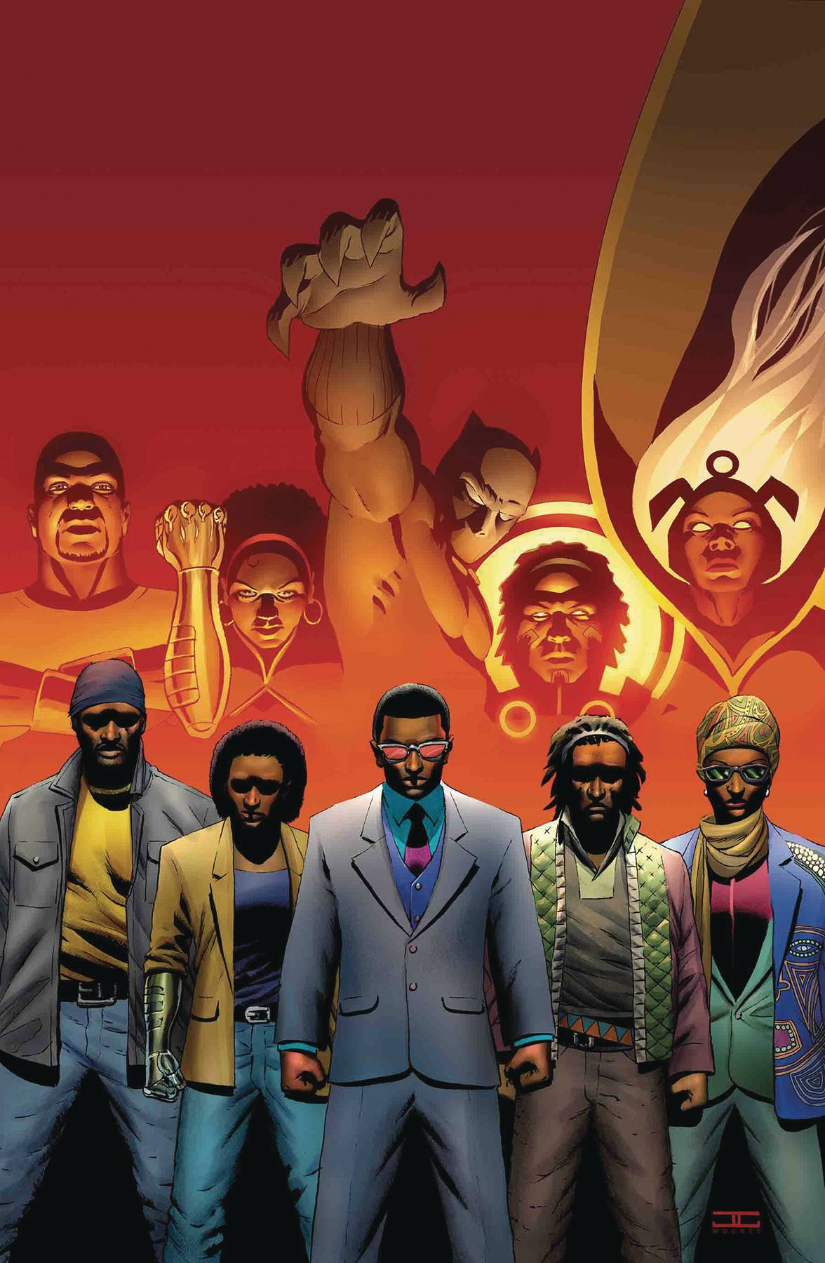 BLACK PANTHER AND THE CREW#6
