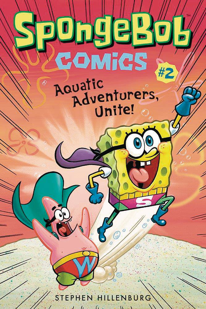 SPONGEBOB COMICSVOL 02: AQUATIC ADVENTURERS UNITE