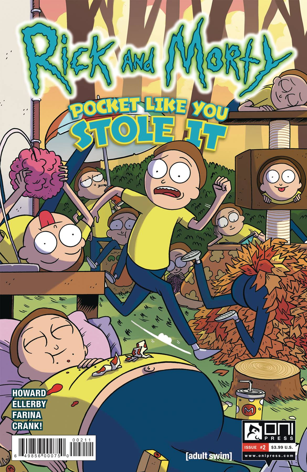 RICK AND MORTY: POCKET LIKE YOU STOLE IT#2