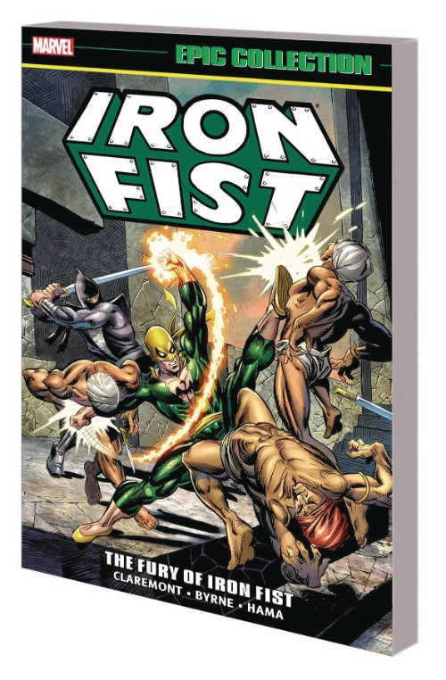 IRON FIST EPIC COLLECTION VOL 01: THE FURY OF IRON FIST