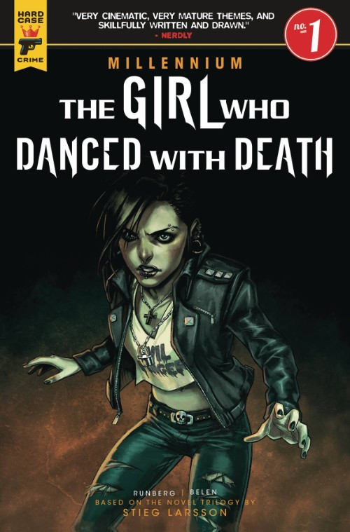 MILLENNIUM--THE GIRL WHO DANCED WITH DEATH#1