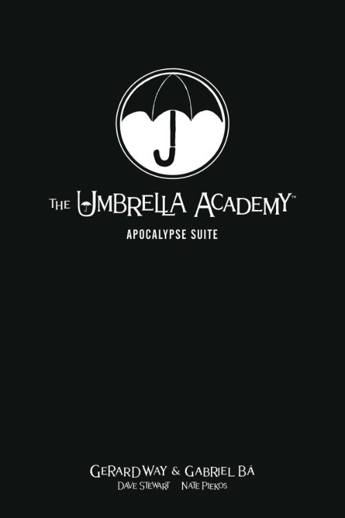 UMBRELLA ACADEMY LIBRARY EDITION VOL 01: APOCALYPSE SUITE