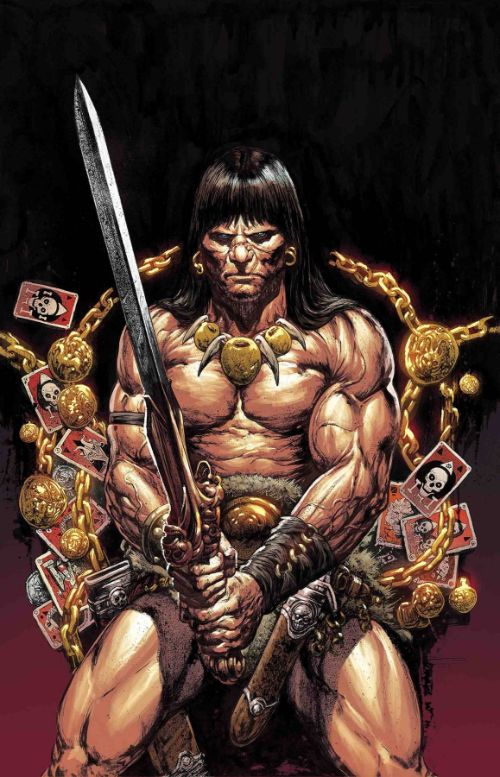 SAVAGE SWORD OF CONAN#8