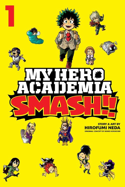 MY HERO ACADEMIA: SMASH!! VOL 01