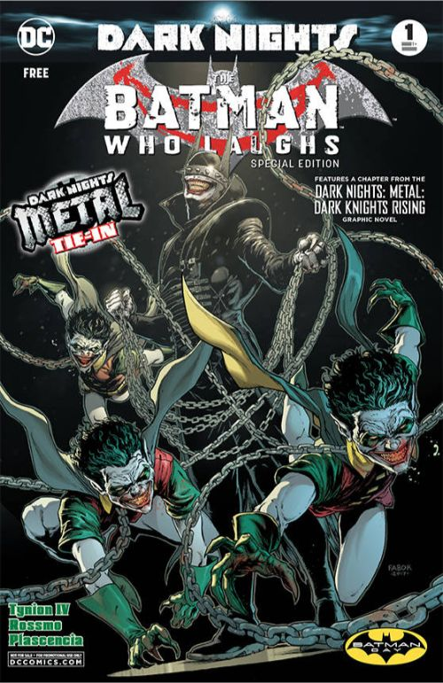 BATMAN WHO LAUGHS#1
