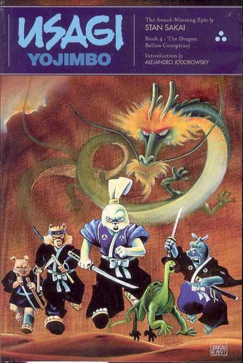 USAGI YOJIMBO BOOK 04: THE DRAGON BELLOW CONSPIRACY