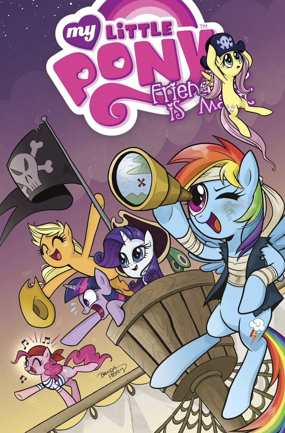 MY LITTLE PONY: FRIENDSHIP IS MAGIC VOL 04