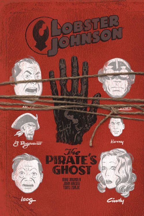 LOBSTER JOHNSON: THE PIRATE'S GHOST#3