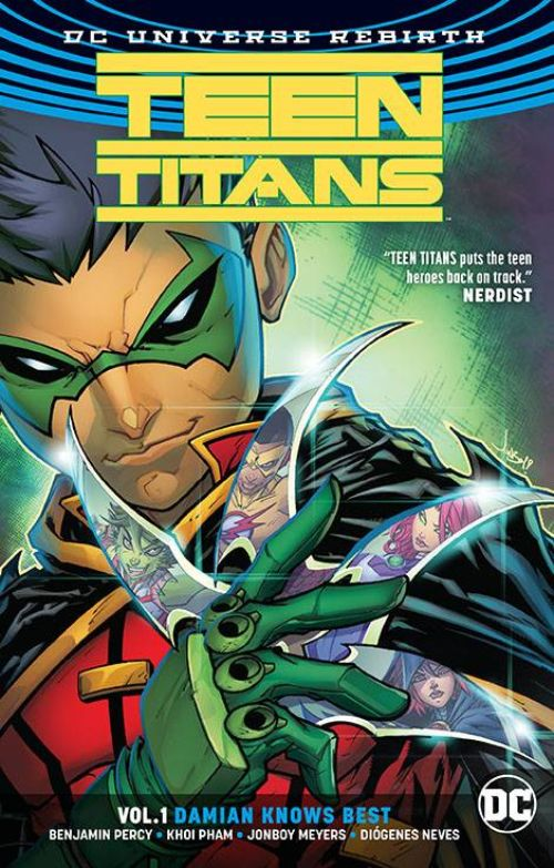 TEEN TITANS VOL 01: DAMIAN KNOWS BEST