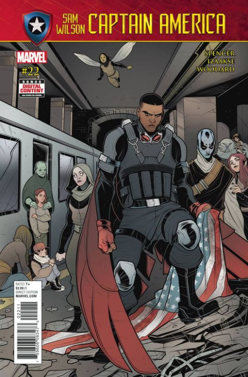 CAPTAIN AMERICA: SAM WILSON#22
