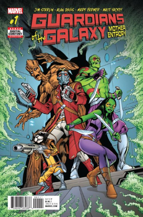 GUARDIANS OF THE GALAXY: MOTHER ENTROPY#1