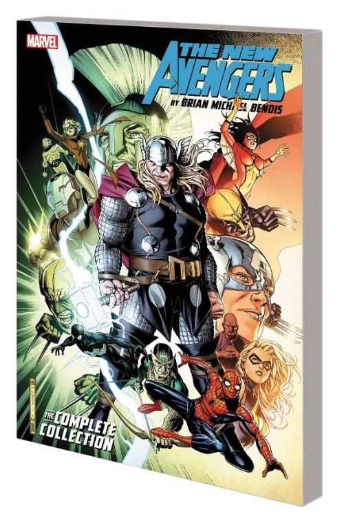 NEW AVENGERS BY BRIAN MICHAEL BENDIS: THE COMPLETE COLLECTION VOL 05