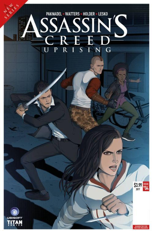 ASSASSIN'S CREED: UPRISING#5