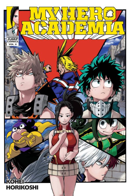 MY HERO ACADEMIA VOL 08