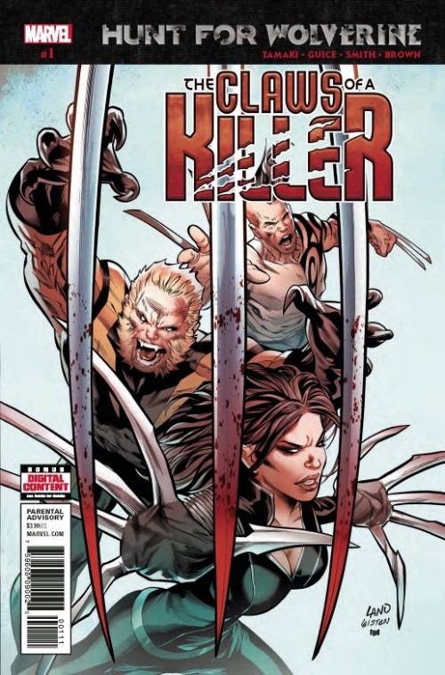 HUNT FOR WOLVERINE: THE CLAWS OF A KILLER#1