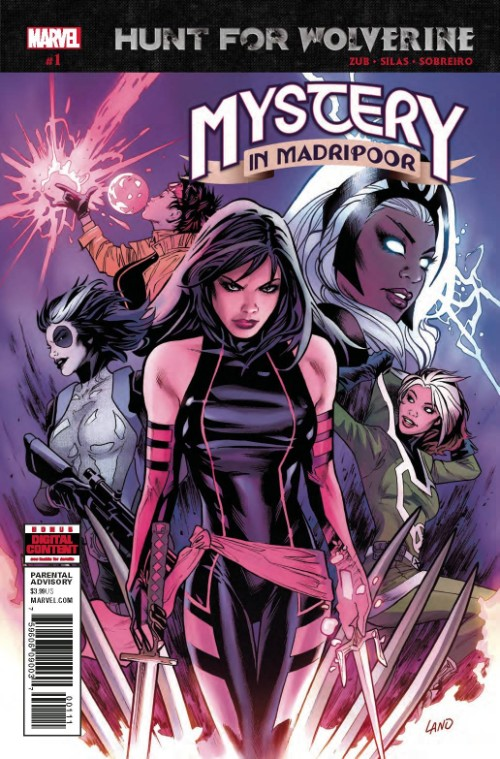 HUNT FOR WOLVERINE: MYSTERY IN MADRIPOOR#1