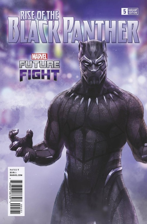 RISE OF THE BLACK PANTHER#5