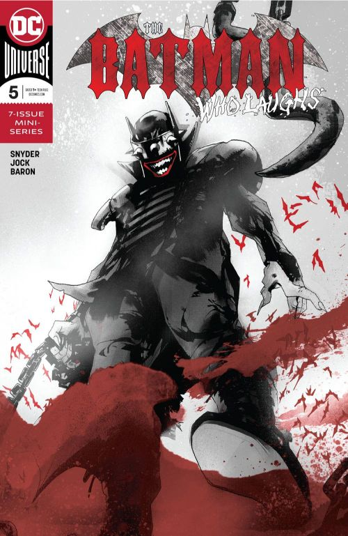 BATMAN WHO LAUGHS #5