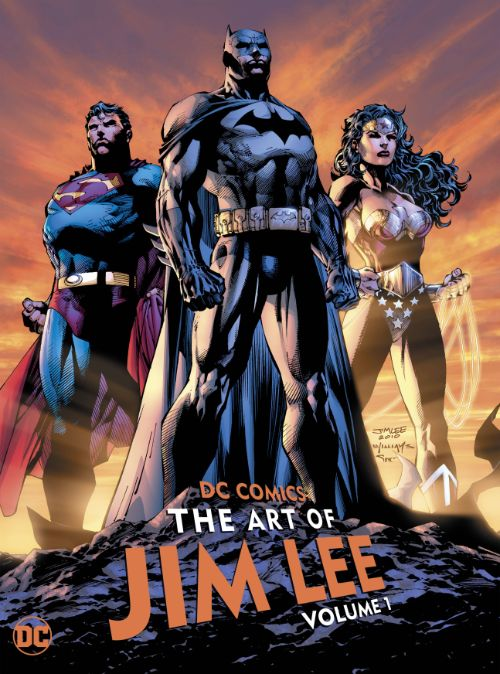 DC COMICS: THE ART OF JIM LEEVOL 01