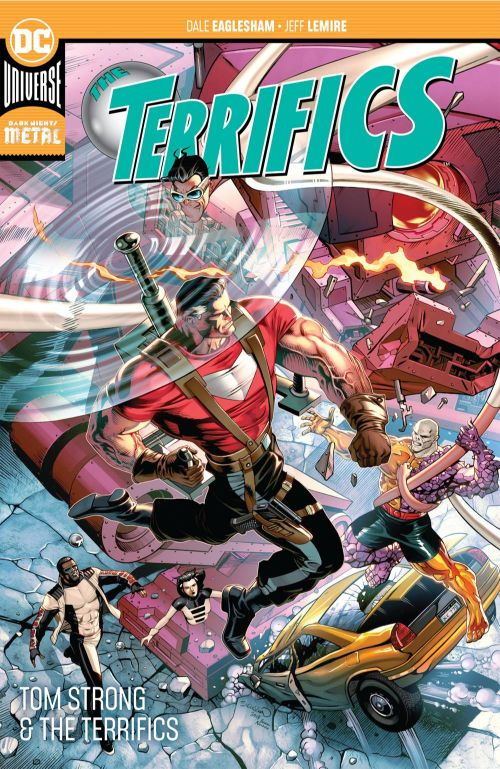 TERRIFICSVOL 02: TOM STRONG AND THE TERRIFICS