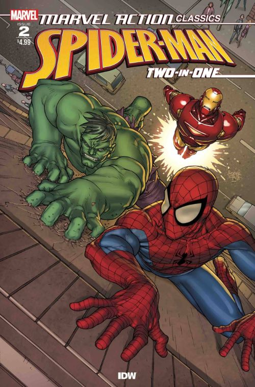 MARVEL ACTION CLASSICS: SPIDER-MAN TWO-IN-ONE